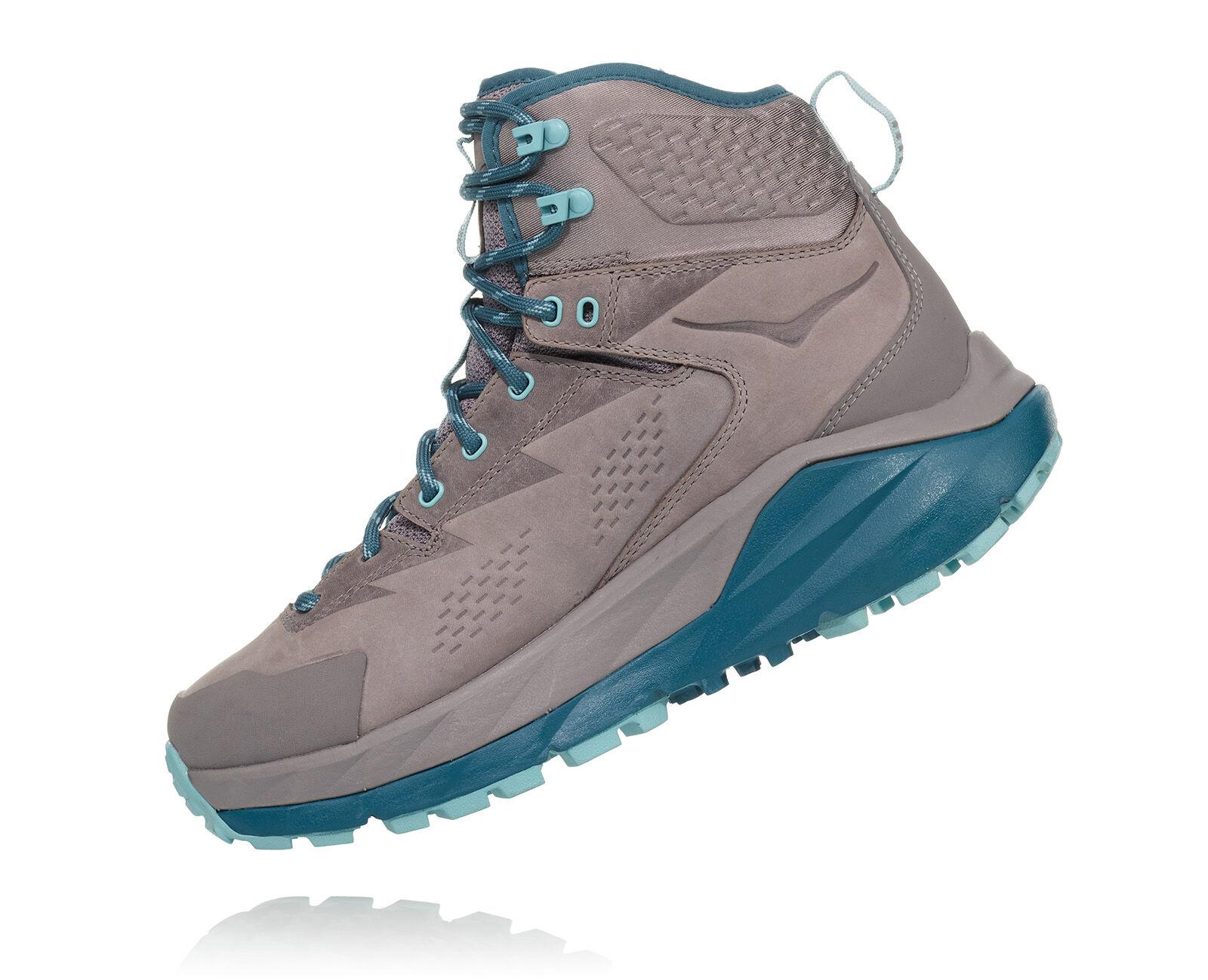 Hoka One One Women/'s Sky Kaha Hiking Boots Shoes Frost Gray Aqua Haze 1099638