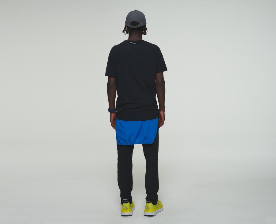 Performance-shirt met korte mouw
