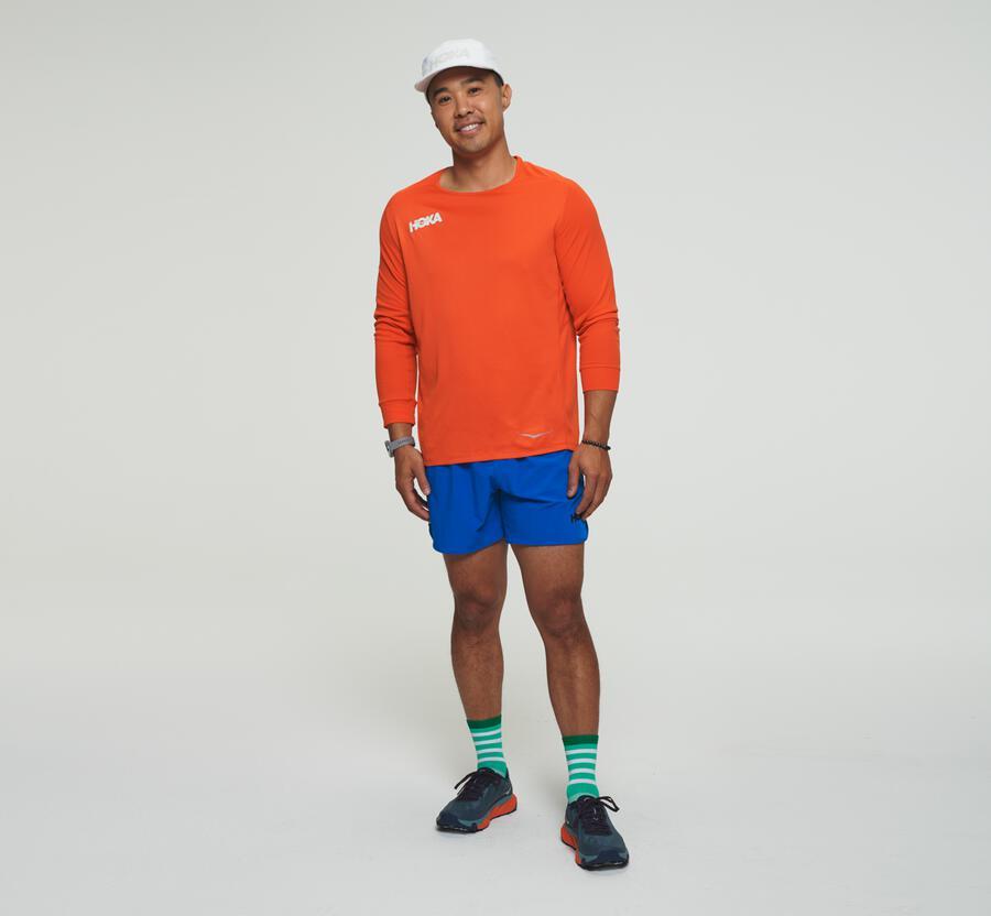 Performance-shirt met driekwartmouwen