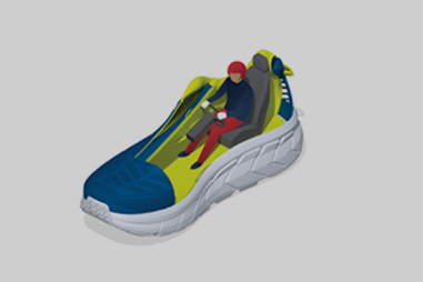 Active Foot Frame
