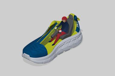 Dynamisch voetframe