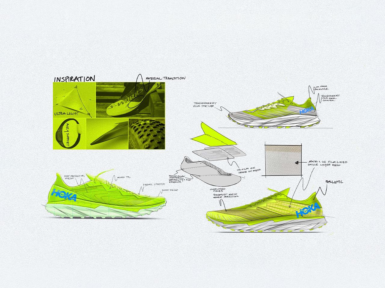 Zinal design sketch design and notes