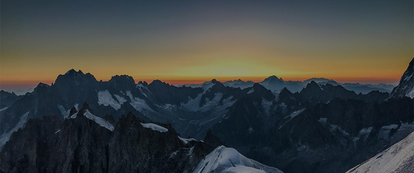 The Alps at Dawn