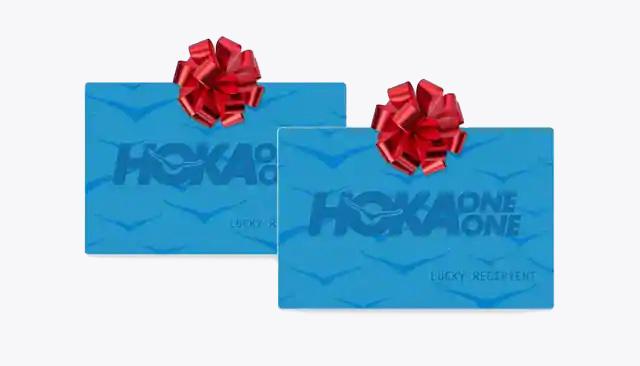 An image of the hoka gift card