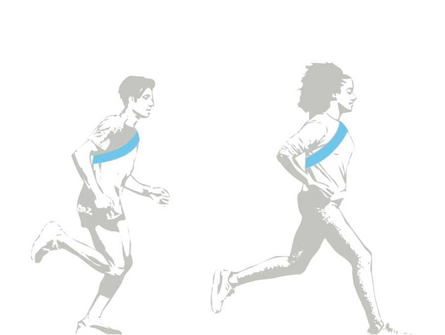 Art of Ekiden runners.