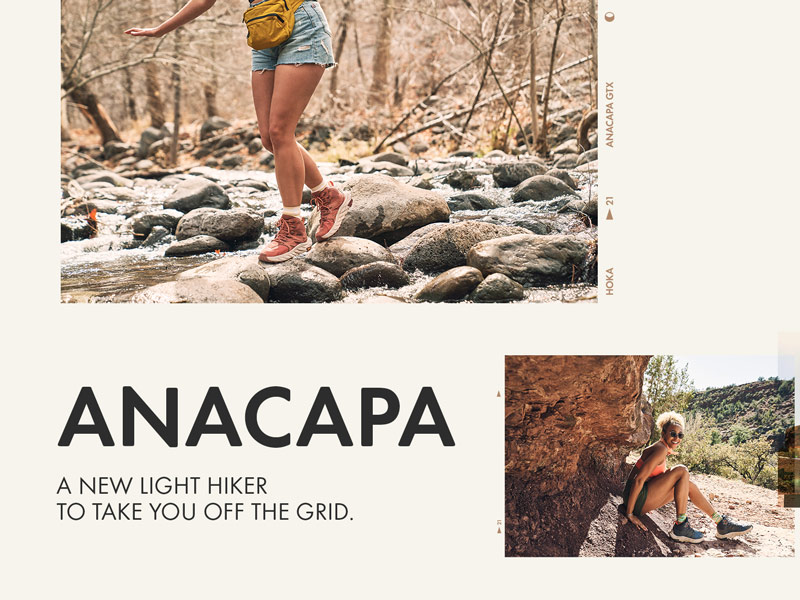 Anacapa.  A new light hiker to take you off the grid.